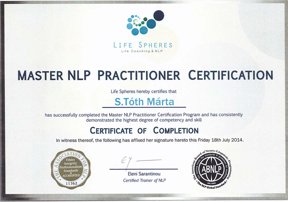 Marta S Toth Coach Nlp Trainer Personal And Business Developer