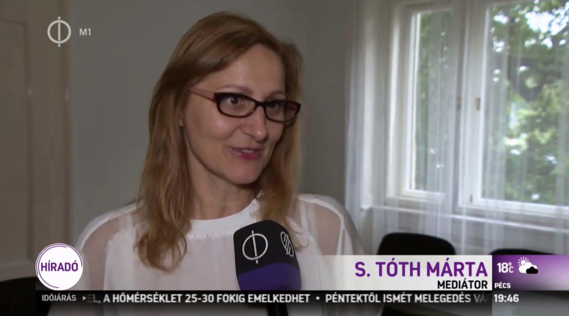 M1 Hírado – S. Toth Marta