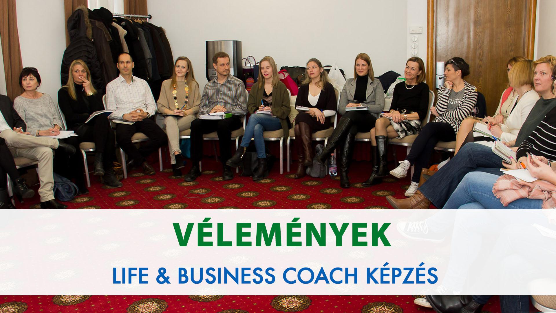 Vélemények @ Life és Business Coach Képzés
