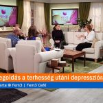Van megoldás a terhesség utáni depresszióra. S. Toth Marta @ Fem3 Café