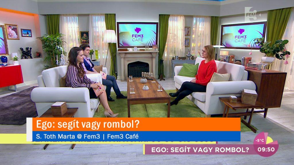 Ego: segít vagy rombol? S. Toth Marta @ Fem3 café