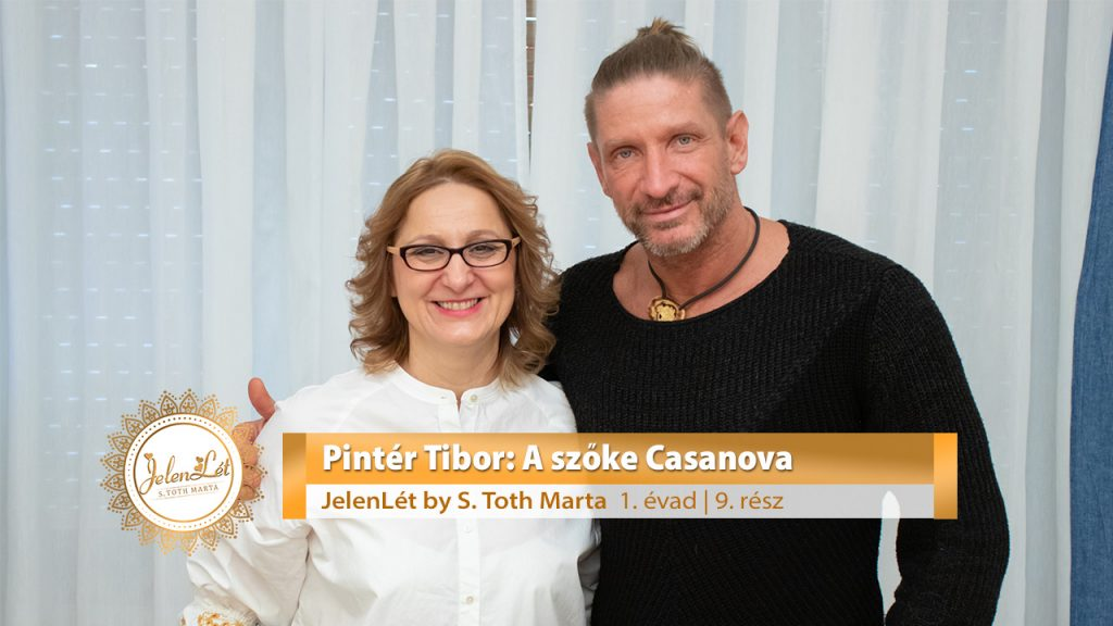 JelenLét by S. Toth Marta - Pintér Tibor: A szőke Casanova