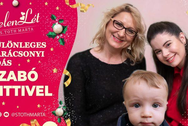 JelenLét by S. Toth Marta: Különleges karácsonyi adás Szabó Kittivel. Boldog Karácsonyt!