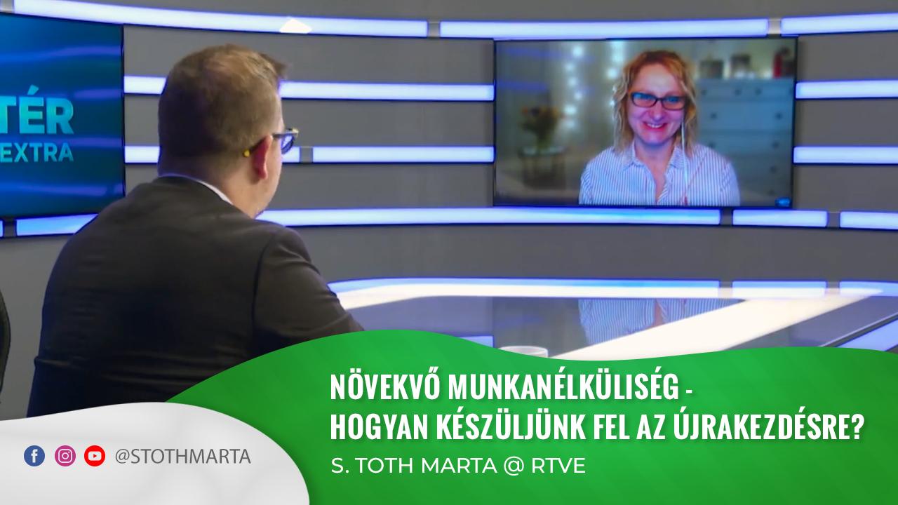 Növekvő munkanélküliség - Hogyan készüljünk fel az újrakezdésre? S. Toth Marta @ Háttér Extra, RTVE
