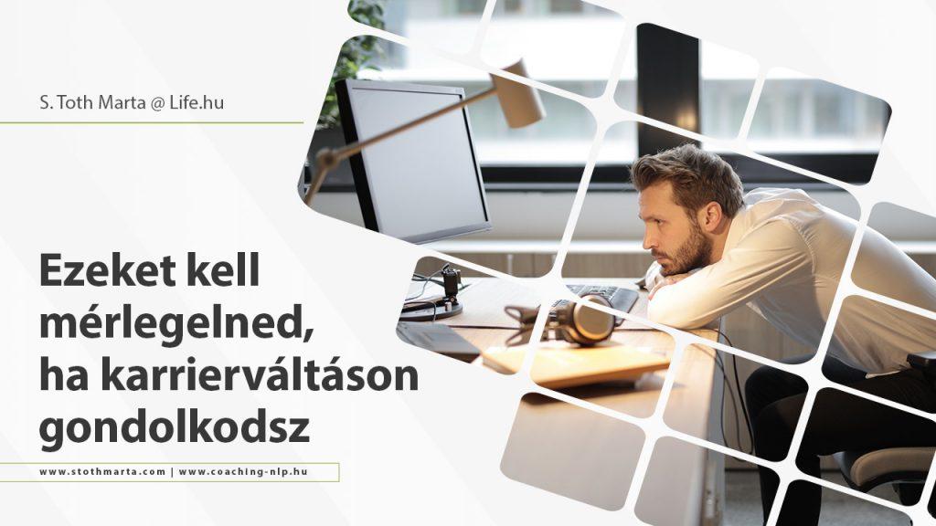 S. Toth Marta - Ezeket kell mérlegelned, ha karrierváltáson gondolkodsz. Source: pexels.com